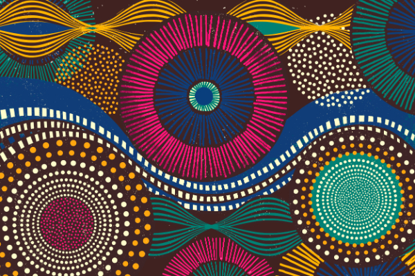 Free Backgrounds With Tribal Feel: African Tribal
