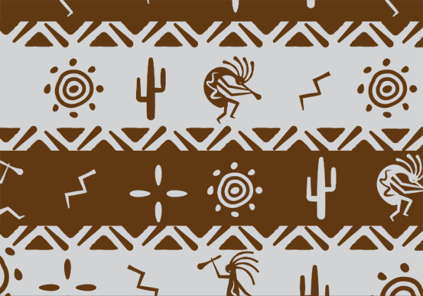Free Backgrounds With Tribal Feel: Natural Colors