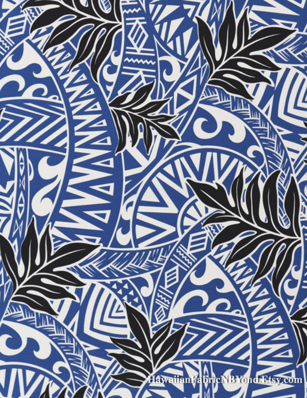 Free Backgrounds With Tribal Feel: Blue & Black Tribal