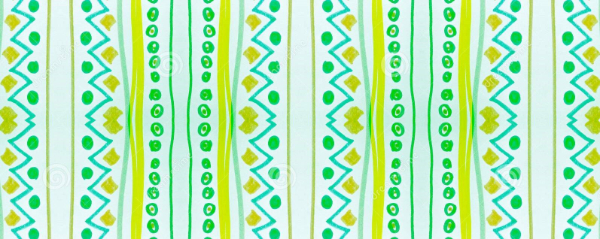 Free Backgrounds With Tribal Feel: Seamless Green