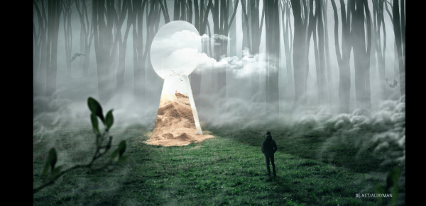 Free Surreal Backgrounds for Designers: Vision