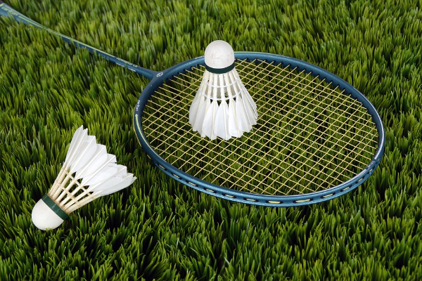 Free Amazing Sports Backgrounds for Designers: Clean Photograph of Badminton