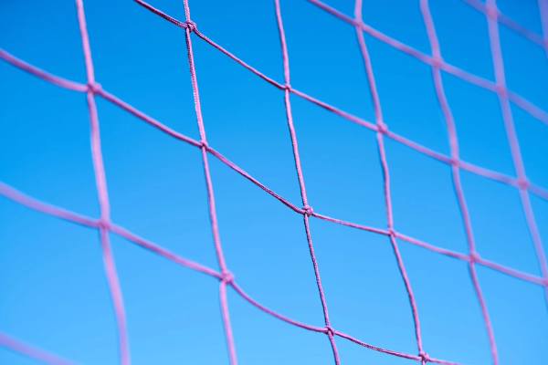 Free Amazing Sports Backgrounds for Designers: Purple Volleyball Net Background