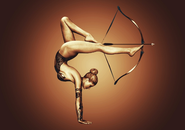 Free Amazing Sports Backgrounds for Designers: Creative Archery Background
