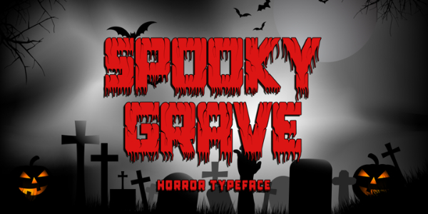 Scary Fonts to Give a Horror Feel : Spooky Groove