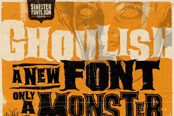 Scary Fonts to Give a Horror Feel : Ghoulish Font