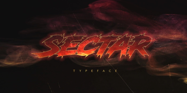 Amazing Sports & Fitness Fonts: Sectar