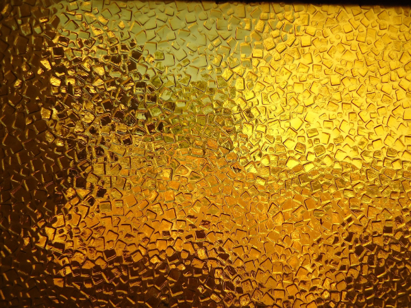 Industrial Textures for your Collection: Golden Glass Texture