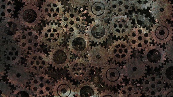 Industrial Textures for your Collection: Rustic Gears