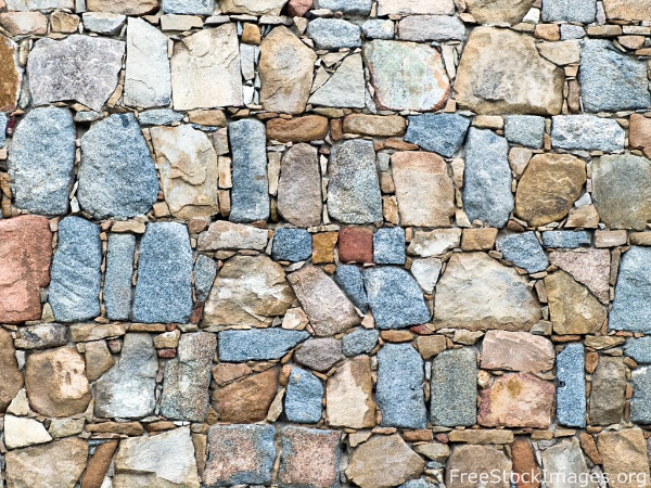 Free Stone Textures for your Collection: Stone Wall Photo