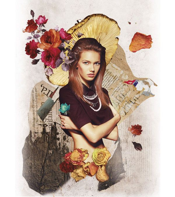 Top Photoshop Trends of 2021 For Designers: Collage Effect