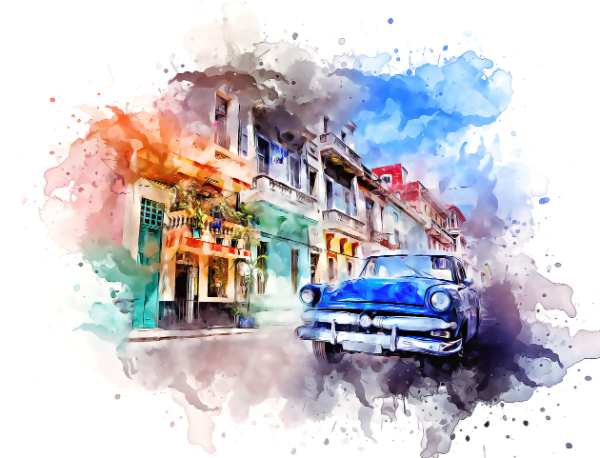 Top Photoshop Trends of 2021 For Designers: Artistic WaterColor