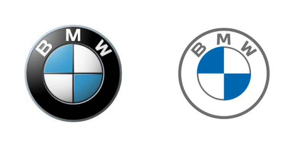 Amazing Logo Redesigns for Inspiration: BMW