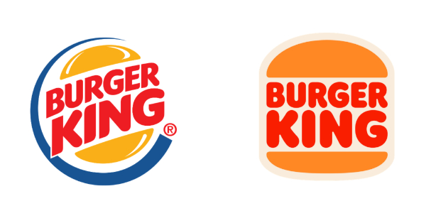Amazing Logo Redesigns for Inspiration: Burger King