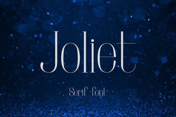 Modern Didone Fonts for your collection: Joliet