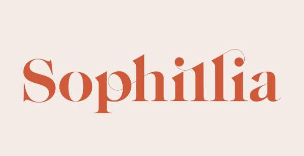 Modern Didone Fonts for your collection: Sophillia